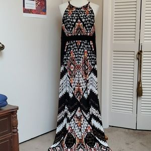 Chico's Maxi Dress with Aztec Pattern